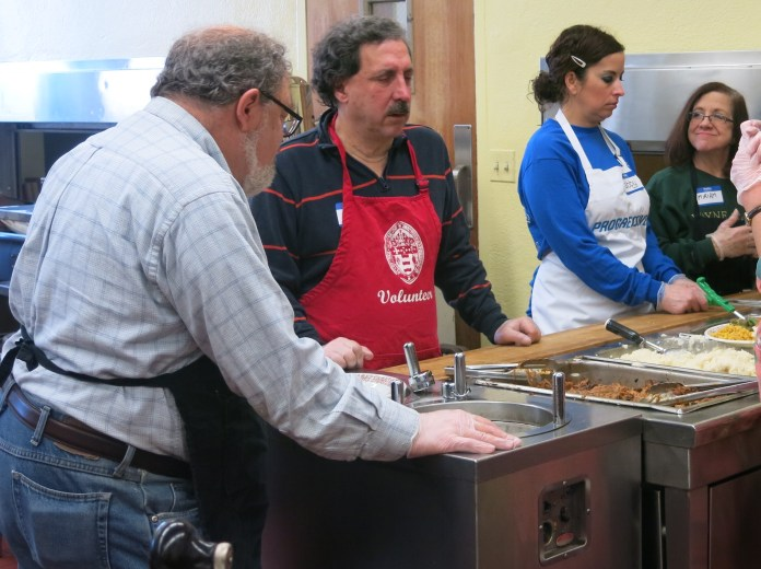 Some of our volunteers from Temple Beth-El