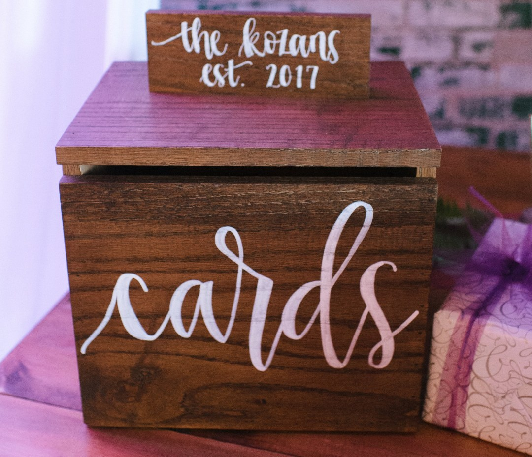 Rustic Card Box Detroit Chiavari 8