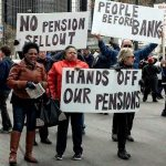 Detroit retirees denounce 'Grand Theft Pension'
