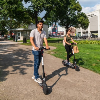 Scooters offer new mobility options in downtown Detroit
