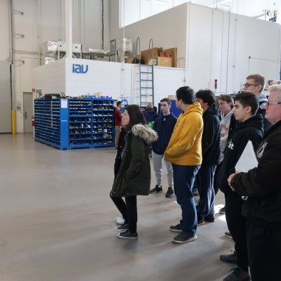 Discover Auto introduces students to mobility careers through company tours