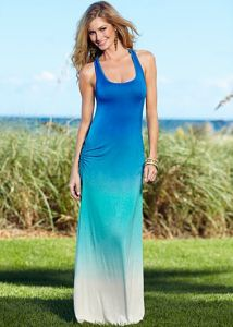 Venus Tie Dye Maxi Dress