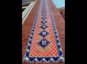 Comerica Park Tiles