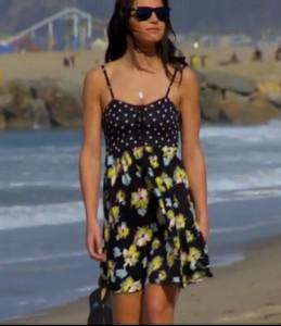 Merona print dress