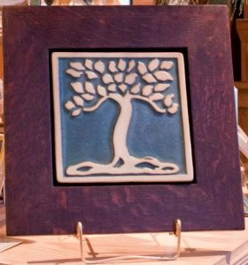 Botanical Tree Tile
