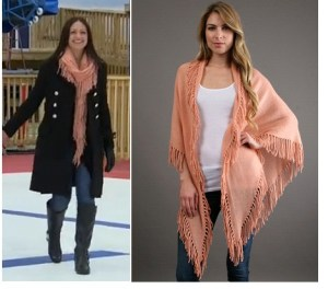 Minnie Rose Fringe Shawl