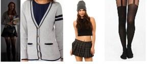 Jessica's Schoolgirl Outfit
