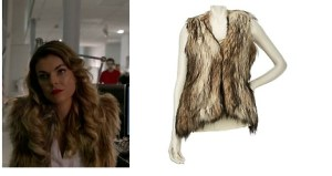 Wendy Williams Fur Vest