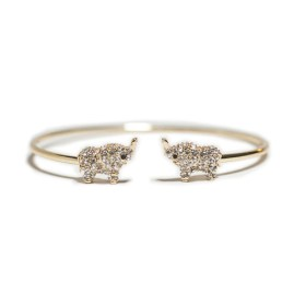 Marlyn Schiff Elephant Cuff