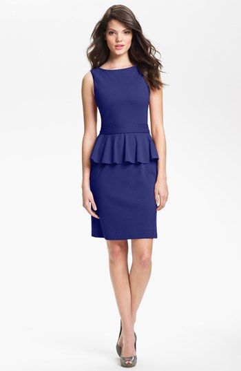 Isaac Mizrahi Peplum Dress