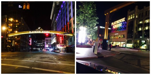 playhouse square Collage