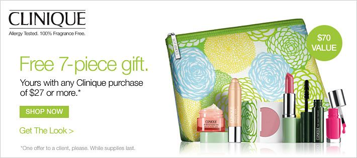 It's Clinique Bonus Time at Belk!