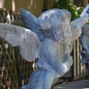 English Lead Fountain Ornament Detail 3