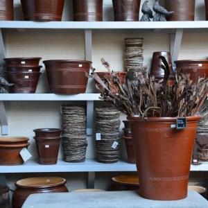 English salt glazed pots from Errington Reay