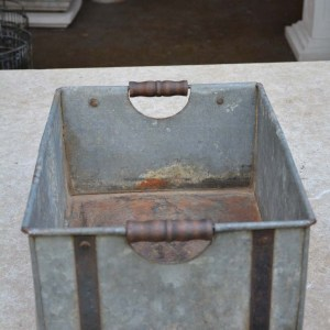 Galvanized Metal Banded Box