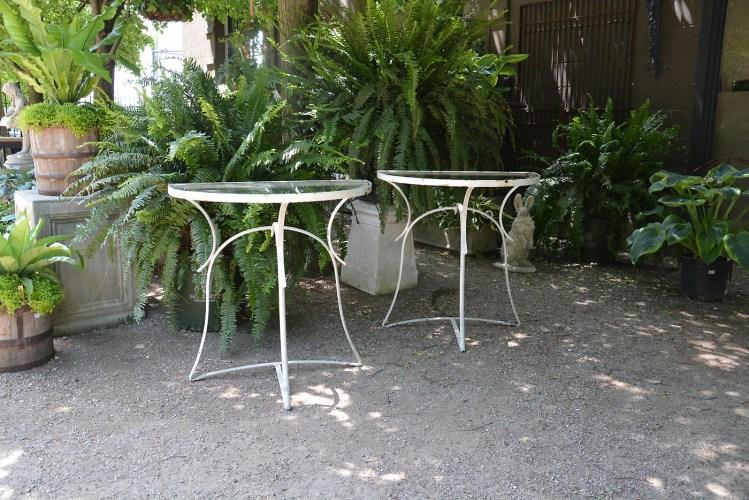 Iron Half Round Tables Main