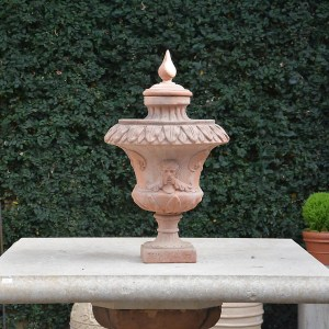 Italian Terra Cotta Finial Main