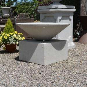 Nichols Brothers Stoneworks Cast Limestone Plinth main