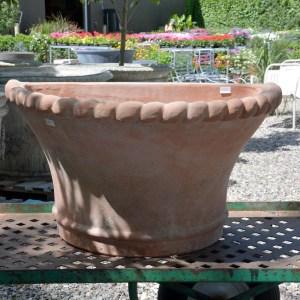 Terra Cotta Half Pot