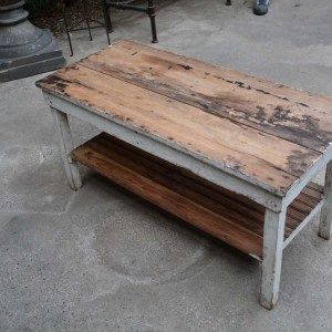 Wood Rectangular Table