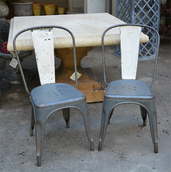 Vintage French Tolix Chairs & Vintage French Tolix Chairs | Detroit Garden Works
