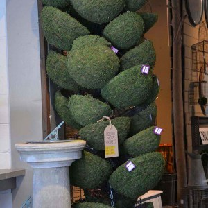 Round Hanging Moss Baskets