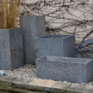 Volcanic Rock Containers