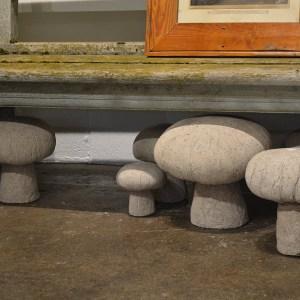 Hypertufa Mushroom