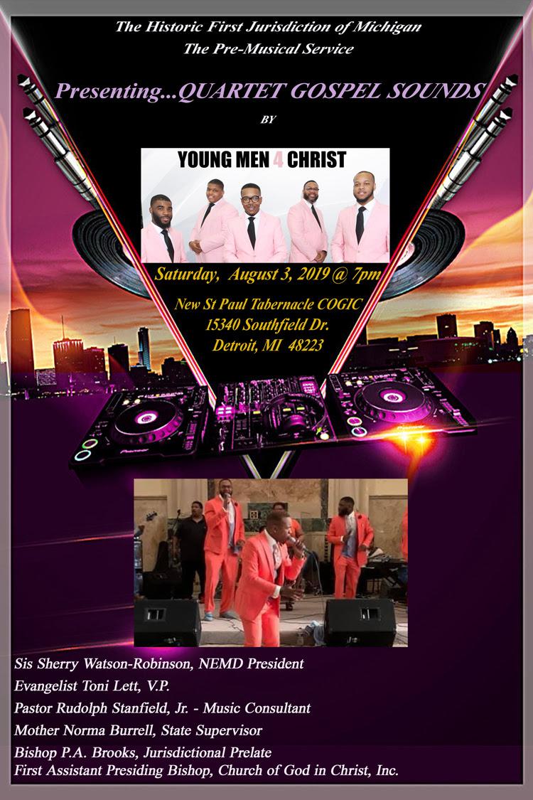 Pre-Musical for 105th Holy Convocation – DetroitGospel com