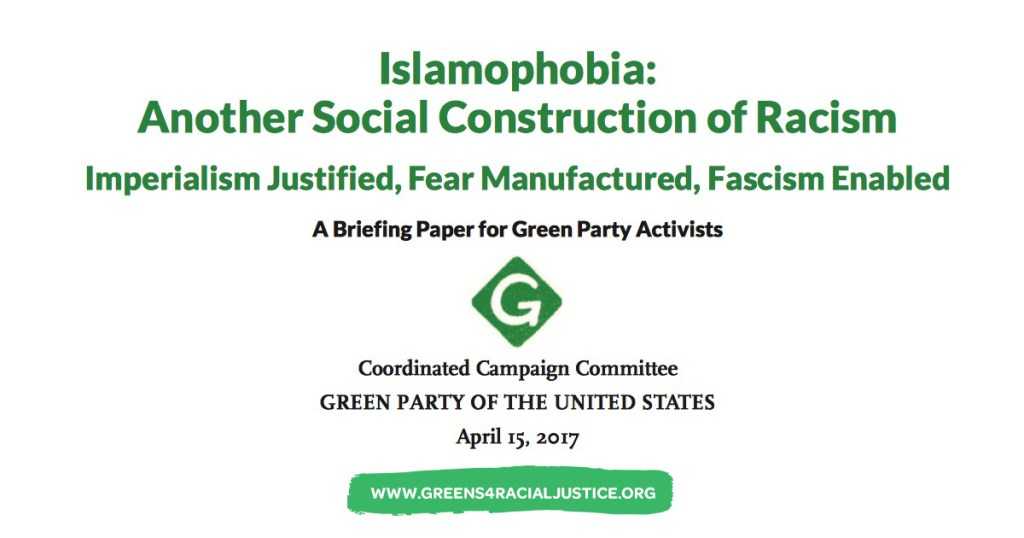 Islamaphobia: Another Social COnstruction of Racism
