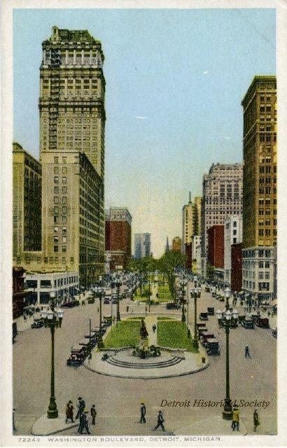 Washington Boulevard Historic District | Detroit ...