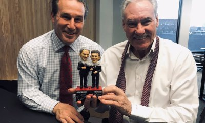 Television broadcasters Ken Daniels and Mickey Redmond's game calls help fans get through the team's rebuilding