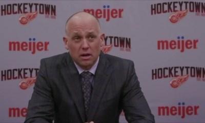 Jeff Blashill, Detroit Red Wings coach