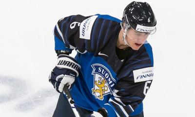 Finnish defenseman Eemil Viro is one of the Detroit Red Wings' most alluring prospects