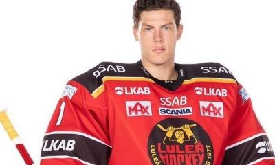 Swedish goalie Jesper Wallstedt could be selected in the top 10 picks of the upcoming NHL draft