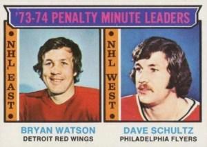 Bryan Watson hockey card
