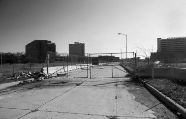 Unused downtown space that used to hold the dense black bottom neighborhood. Photo Tom Perkins