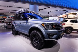 """Ford pushed the """"adventure"""" vehicles to those looking for that perfect road trip"""