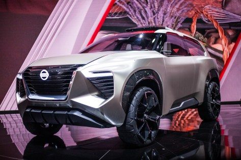 Nissan's concept SUV, the Xmotion.