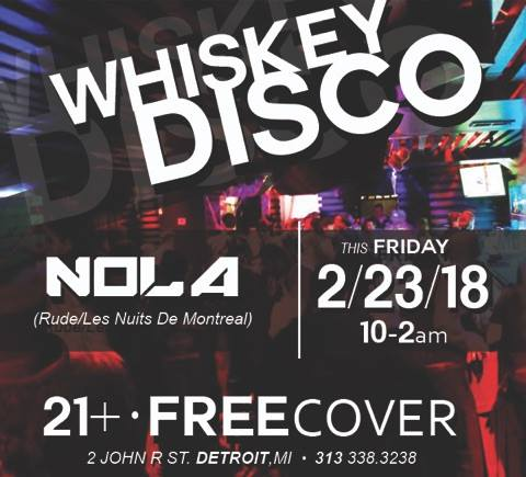 Whiskey Disco Presents: Nola 6