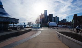 Detroit Riverwalk. Photo Katai