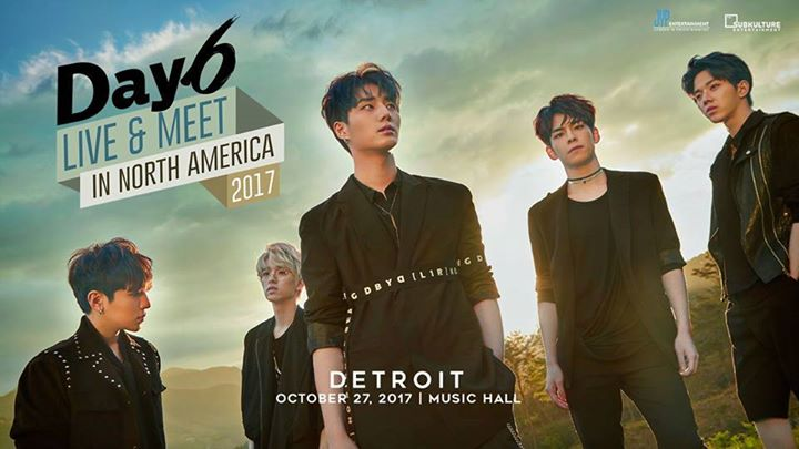 DAY6 Live & Meet In North America 2017 6