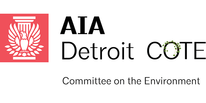 AIA Detroit Committee on the Environment Meeting 6