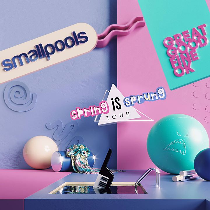 Spring Is Sprung Tour feat. Smallpools and Great Good Fine Ok 6