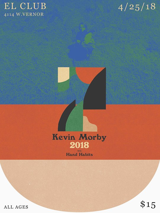 Kevin Morby/ Hand Habits 4/25 at El Club 6