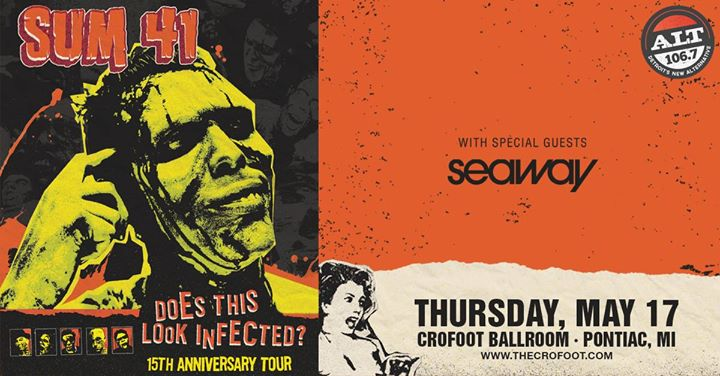"""Sum 41 """"Does This Look Infected?"""" at the Crofoot Ballroom 5/17 6"""