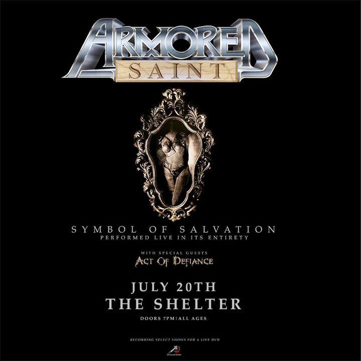 "ARMORED SAINT PERFORMING ""SYMBOL OF SALVATION"" IN ITS ENTIRETY 6"