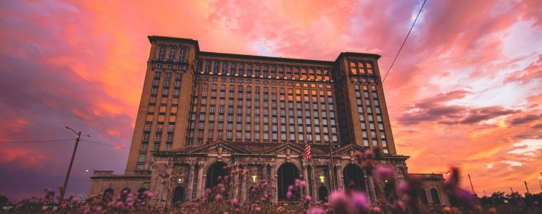 Michigan Central Station in Detroit's Corktown. Photo Rusty Young.