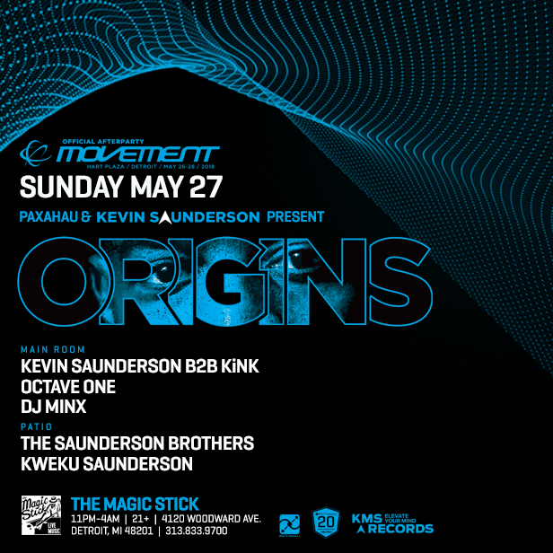KMS Origins - Official Movement After Party at the Magic Stick 6