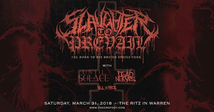 Slaughter To Prevail at Hot Rock Cafe 3/31 6